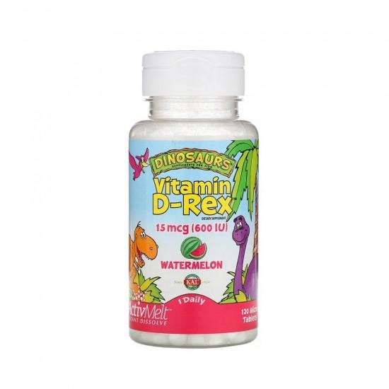 Vitamin D-Rex 600 МЕ 120 таб KAL