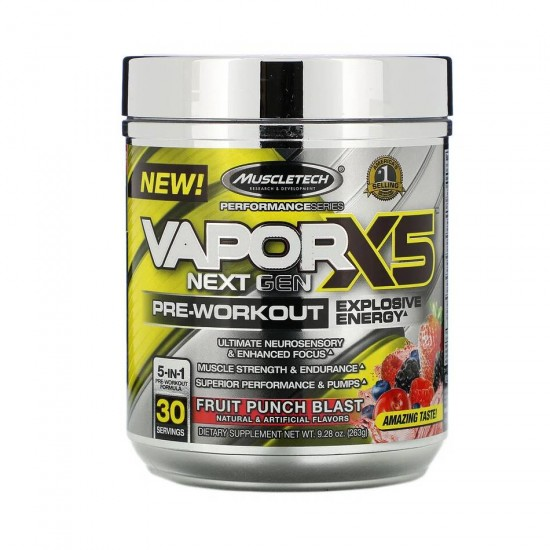 VaporX5 Next Gen Pre-Workout 263 г Muscletech