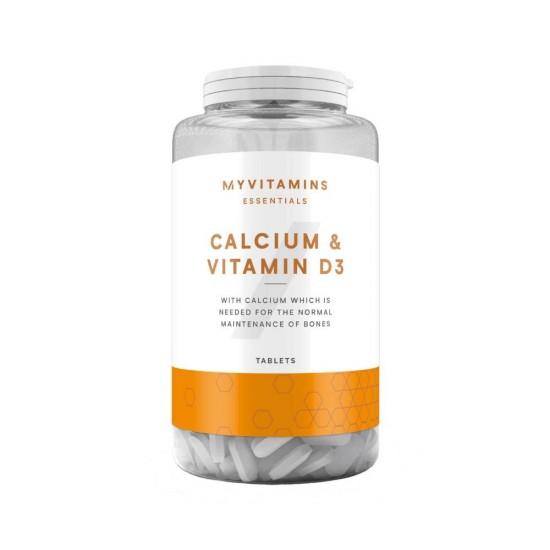 Calcium & Vitamin D3 180 таб Myprotein